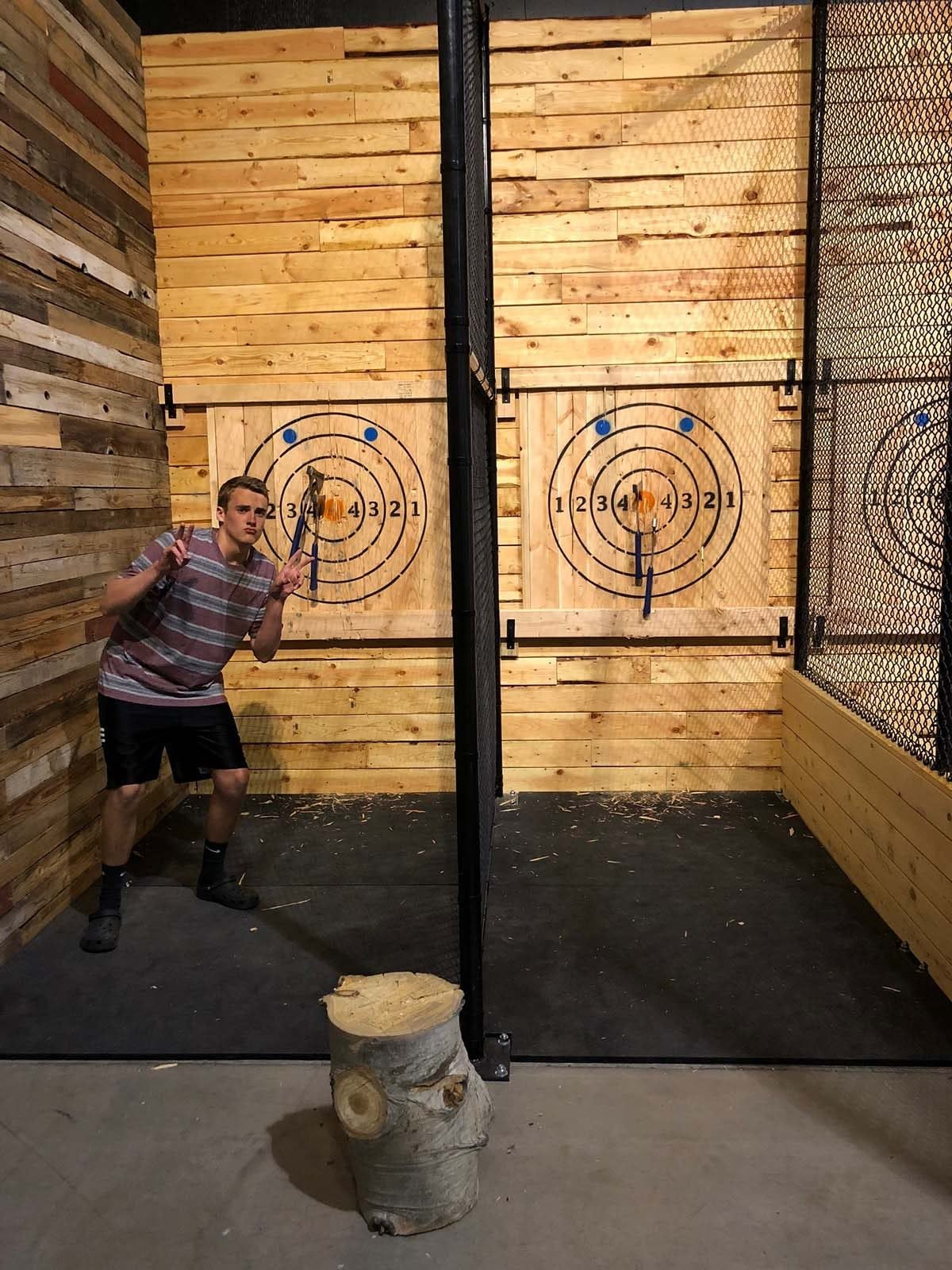 is axe throwing safe?