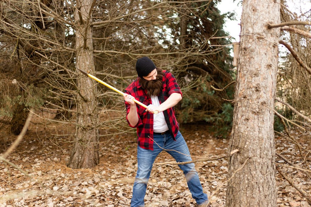The lumberjack workout