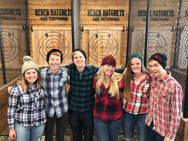 group in flannel