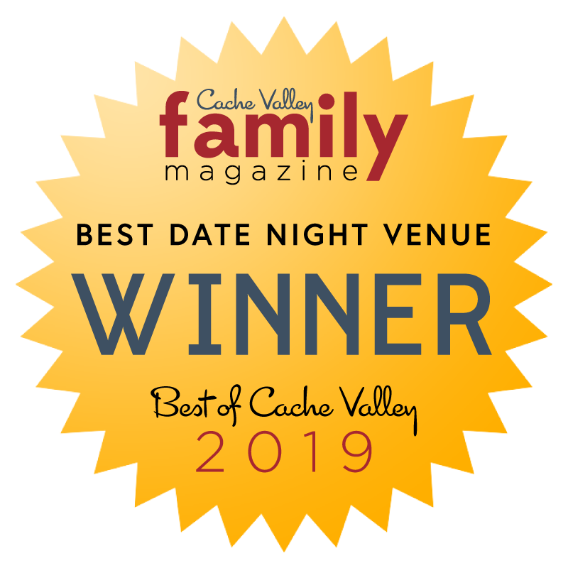 Award badge for Heber Hatchets winning best date night in Cache Valley Utah